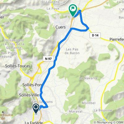 Itinéraire modéré en Cuers