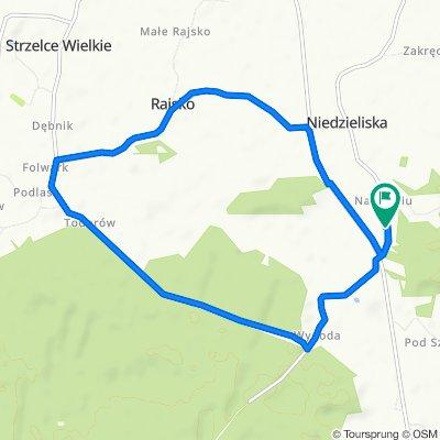 Relaxed route in Niedzieliska