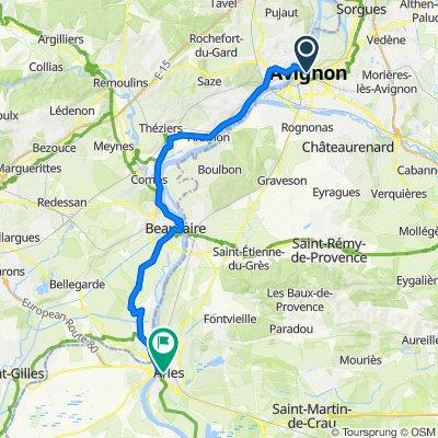 Frankreich Avignon-Arles Tag 11