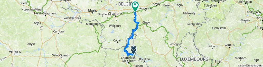 day 4  Les Hautes-Rivières - Namur
