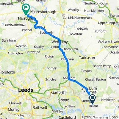 15 Chestnut Green, Leeds to Saint Luke's Avenue, Harrogate