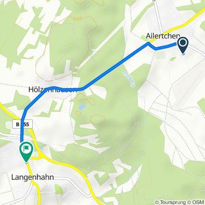 Wiesengrund 1, Ailertchen nach Koblenzer Straße 12, Langenhahn