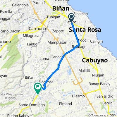 Manila South Road, Santa Rosa City to Nuvali Boulevard, Santa Rosa City