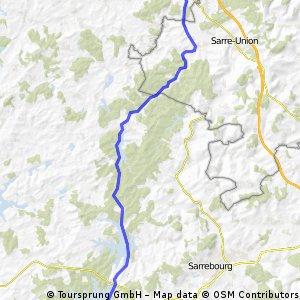 Kanal-Tour von Saaralbe nach Gondrexange