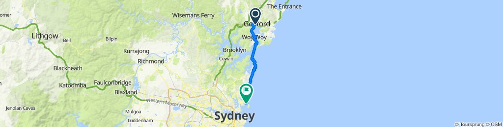 Manly to Gosford