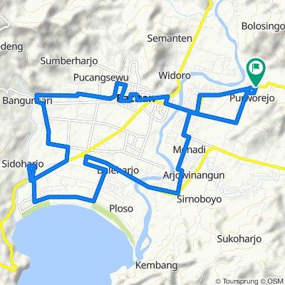 Slow ride in Pacitan