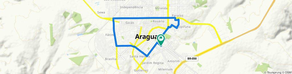 Moderate route in Araguari