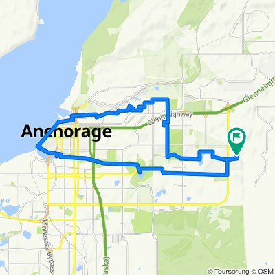 Steady ride in Anchorage