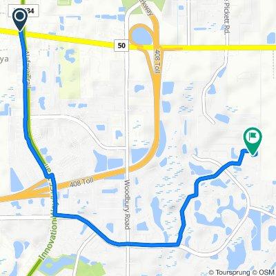 De 11775 E Colonial Dr, Orlando a 13993 Magnolia Glen Cir, Orlando