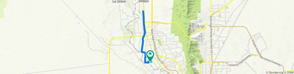 Willow Glen Drive 625, El Paso to Willow Glen Drive 624, El Paso