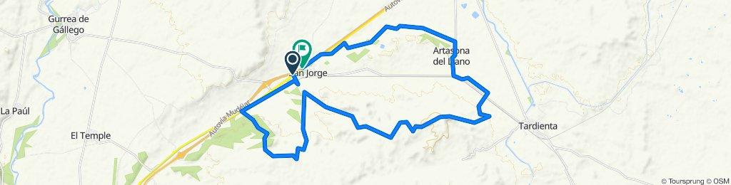 San Jorge - Forestales - Buil - Puyalopa - Santa Quiteria - Artasona - San Jorge