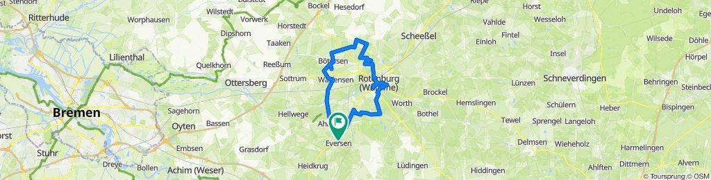 Eversen - Rotenburg - Hügelgräberroute