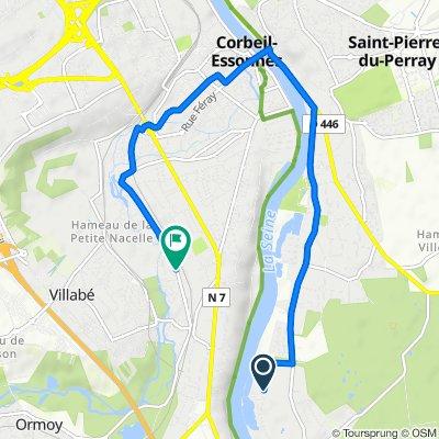 Easy ride in Corbeil-Essonnes