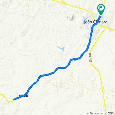 Steady ride in João Câmara