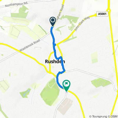 Relaxed route in Rushden