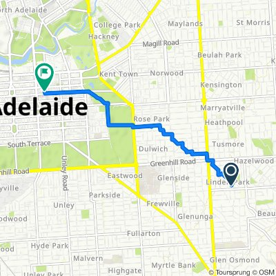 34 Austral Avenue, Linden Park to 99 Gawler Place, Adelaide