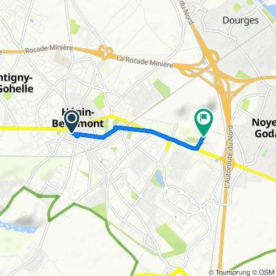 De 50 Rue Voltaire, Hénin-Beaumont à 137 Rue Émile Zola, Dourges