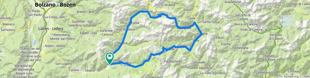 Predazzo-Canazei-Fedaia-Alleghe-Cencenighe_Passo Valles-Predazzo