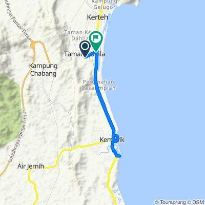 Kerteh to Asian Highway 18, Kerteh