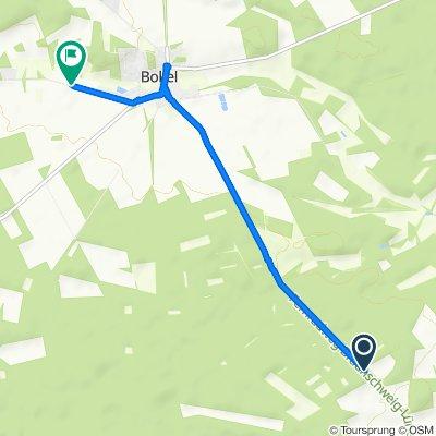 Unnamed Road, Obernholz nach Zur Günne 16, Sprakensehl