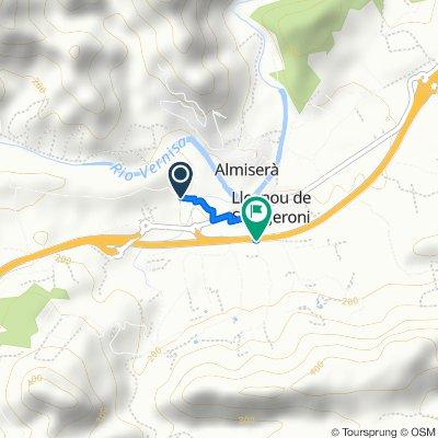 De Camí de la Planissa, Llocnou de Sant Jeroni à Camí de la Granja, Llocnou de Sant Jeroni