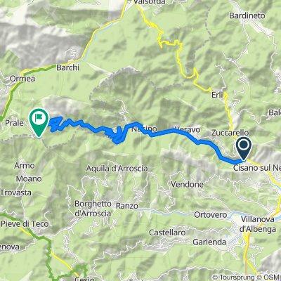 Da Via Piemonte 19, Martinetto a SP107, Armo