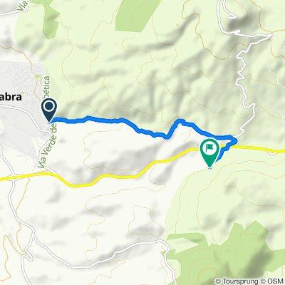 Ruta BTT Cabra-Los Pelaos