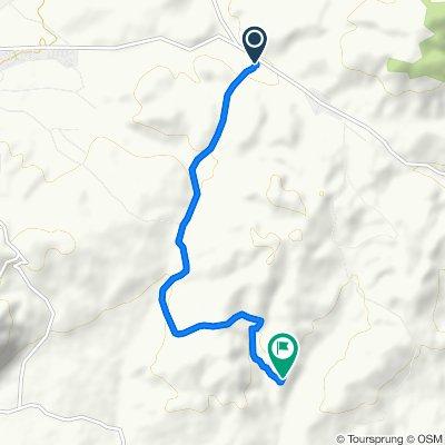Ruta BTT de la Encina Milenaria (desde Los Llanos de San Juan)