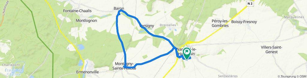 De 28 Rue Charles Baudelaire, Nanteuil-le-Haudouin à 28 Rue Charles Baudelaire, Nanteuil-le-Haudouin