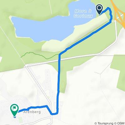 Itinéraire vers 11 Rue de la Veine Bernard, Wallers