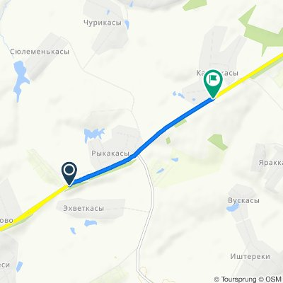 Relaxed route in Калайкасы
