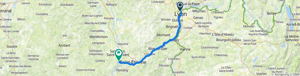 J-4:  on quitte la Via Rhona pour St-Victor