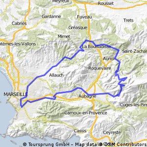 Marseille NE 57 Mile 4500 Ft Climbing