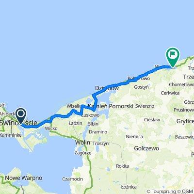 Tricity - Etap 1 - 76 km