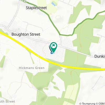 44 Saint Pauls Road, Faversham to 28 Horselees Road, Faversham
