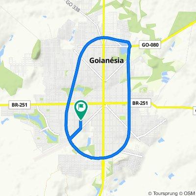 Moderate route in Goianésia