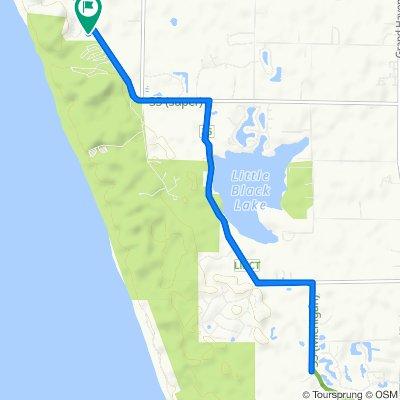 Slow ride in Norton Shores