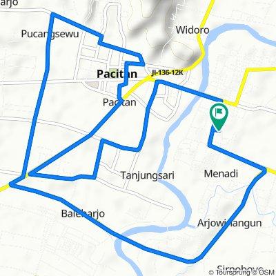 Bowongan, Kecamatan Pacitan to Bowongan, Kecamatan Pacitan