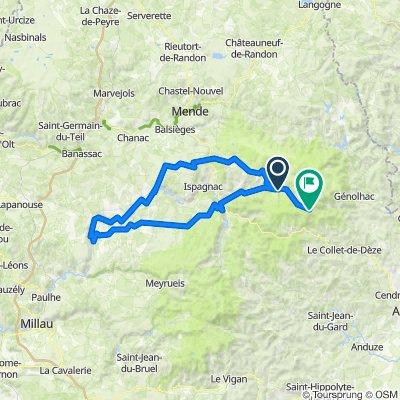 002.1 Le Pont-de-Montvert - St-Maurice-de-Ventalon