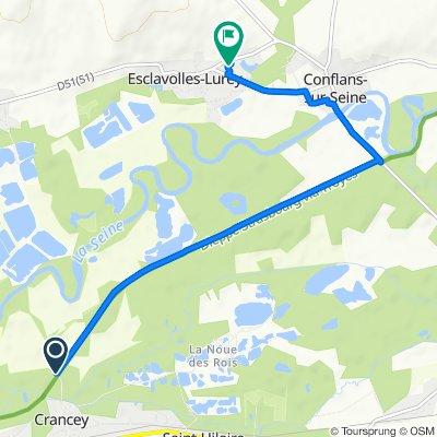 Easy ride in Esclavolles-Lurey