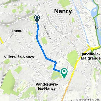 Steady ride in Vandoeuvre-lès-Nancy