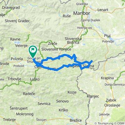 Galicija-Sv.Uršula-Klokočovnik-Ljubična gora-Boč-Velikonočnica-Donačka-Galicija
