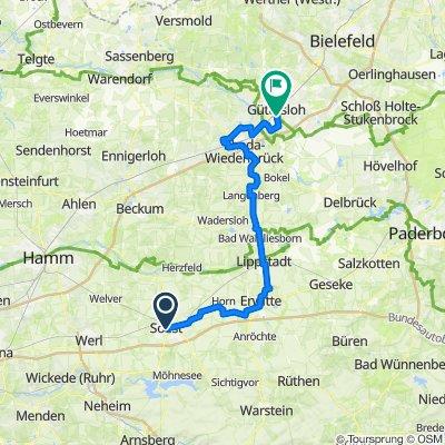 Gütersloh-Oelde-Hamm-Soest, Kollegentour 2019 Tag 2