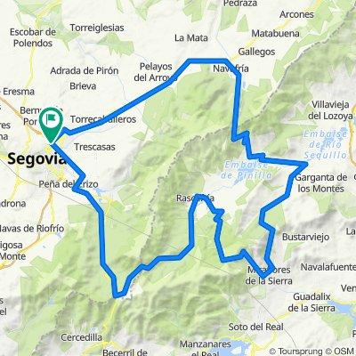 Segovia, Navafria, Canencia, Morcuera, Cotos, segovia