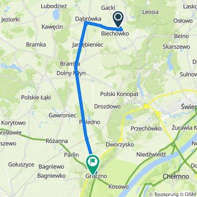 Unnamed Road do Młyńska 6, Gruczno