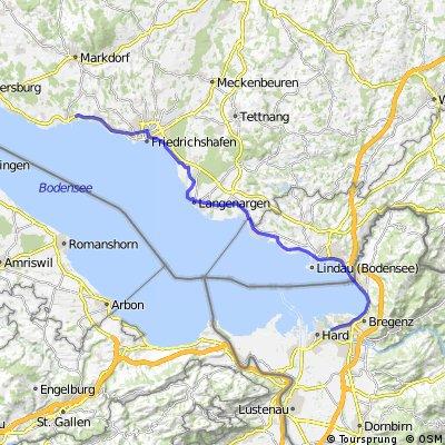 2. Teil Bodensee-Umrundung