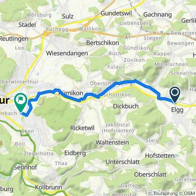 Steady ride in Winterthur