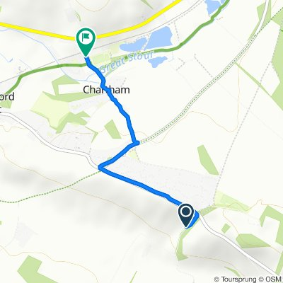 Garlinge Green Road, Canterbury to Station Road, Canterbury