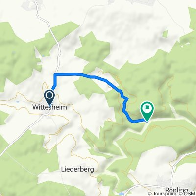 Bachstraße 1, Monheim nach Monheim