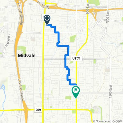 Moderate route in Sandy